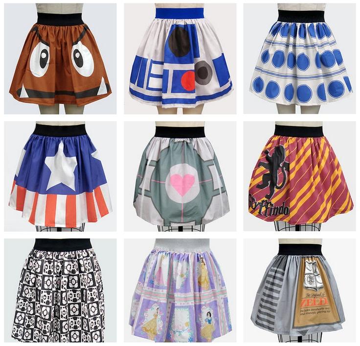 Super Cute Geek Chic Skirts! (1)