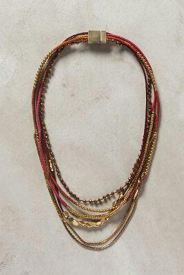#necklace #fashion #anthropologybrossard #autumn