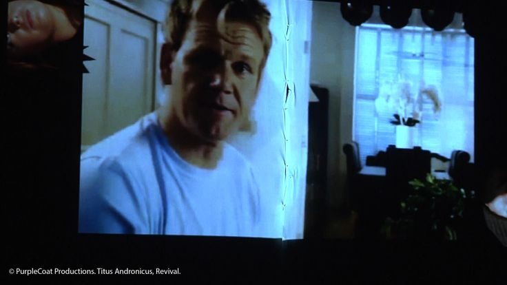 Gordon Ramsey makes an unwitting cameo in the production...