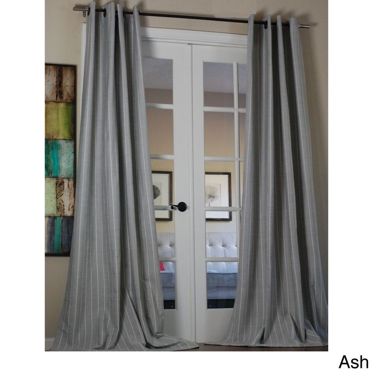 Pin Blend 96-inch Curtain Panel