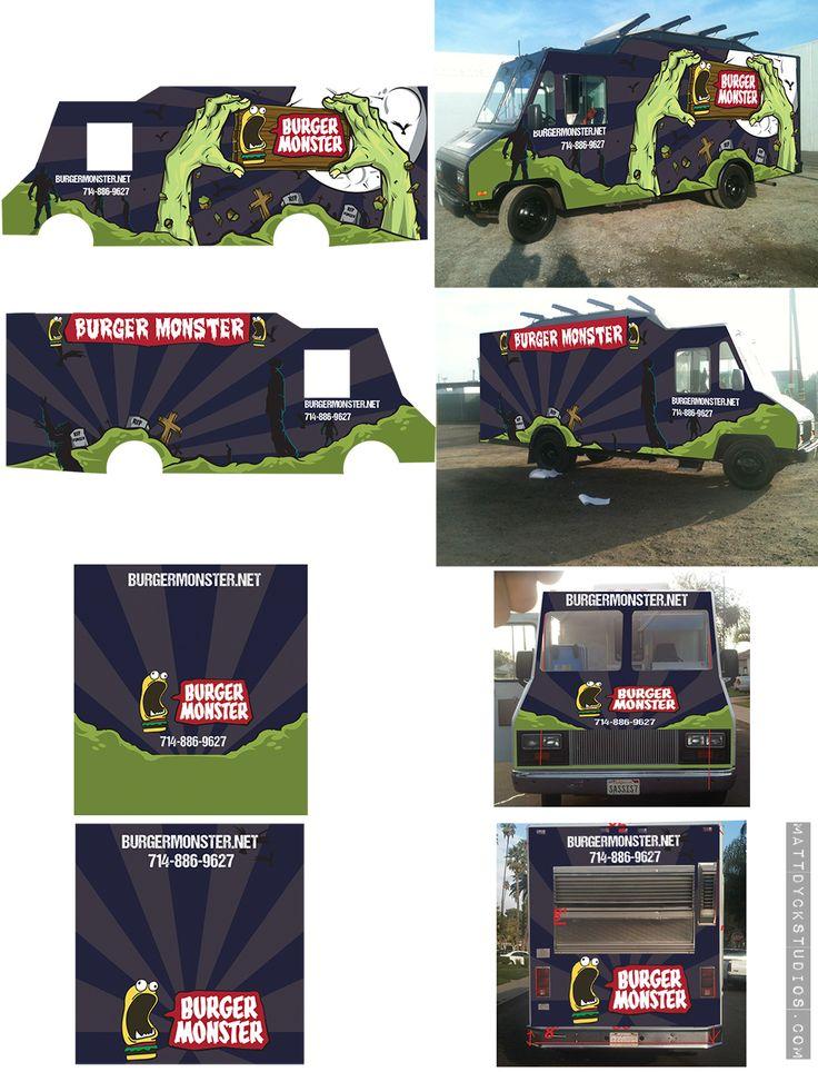 Top 9 October 2013 Winner: Food truck wrap by MattDyckStudios ...