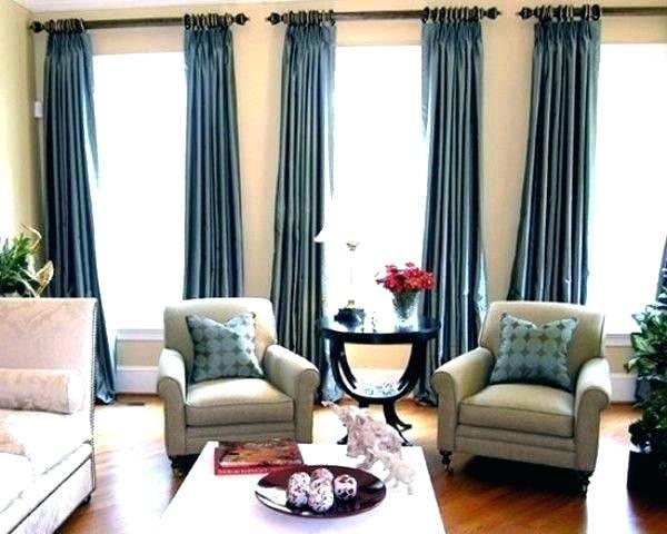 Pin By Debbie Burger On Three Window Ideas Curtains Living Room Living Room Drapes Window Treatments Living Room