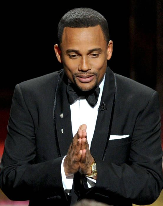 Hill Harper. I'm in love with his mind almost as much as I love the man.