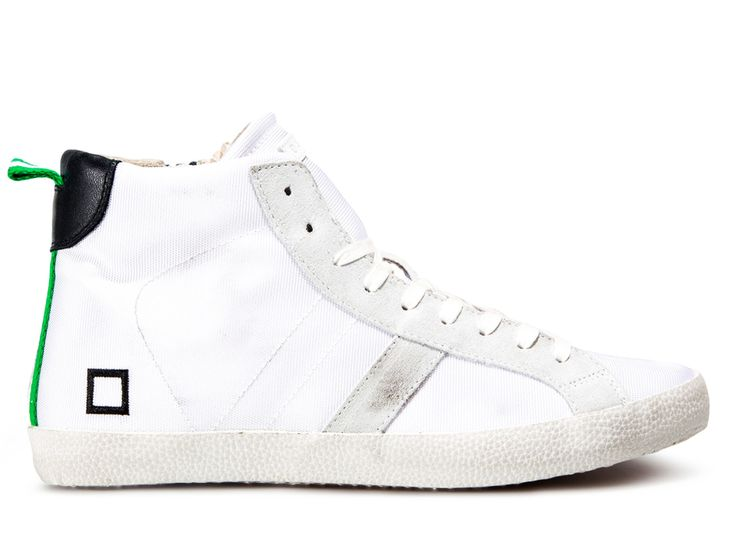 Spring Summer 2015 D.A.T.E. Sneakers Collection / Italian design / Hill High Sprint White:http://bit.ly/1AxxICr