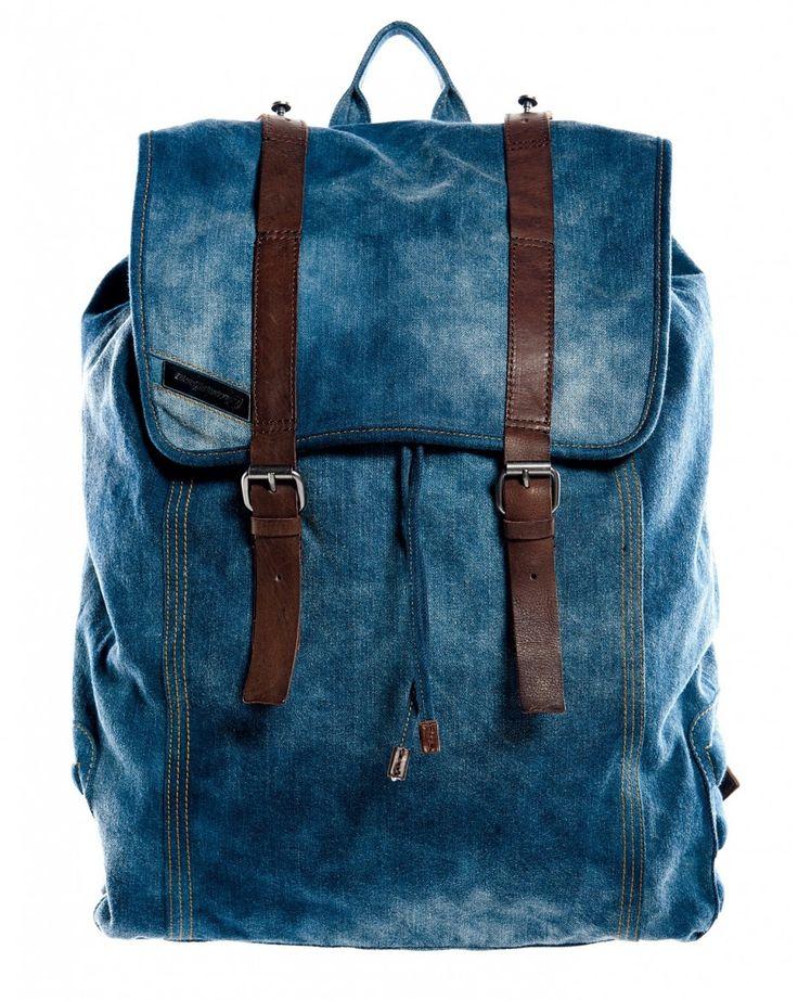 Diesel backy denim backpack