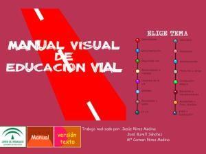 Manual visual de Educación Vial