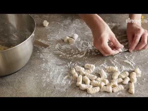 Картофельные ньокки в домашних условиях: видео-рецепт - YouTube