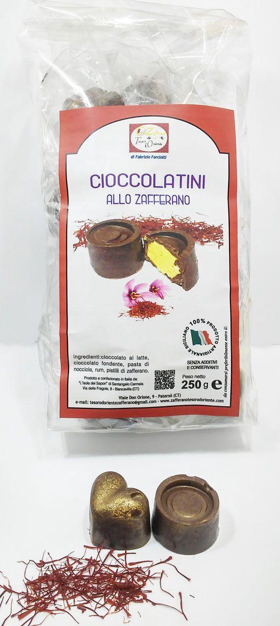 Cioccolatini allo Zafferano