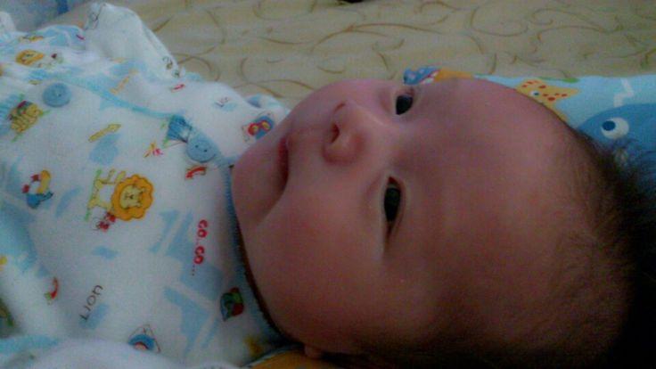 My cute baby boy
