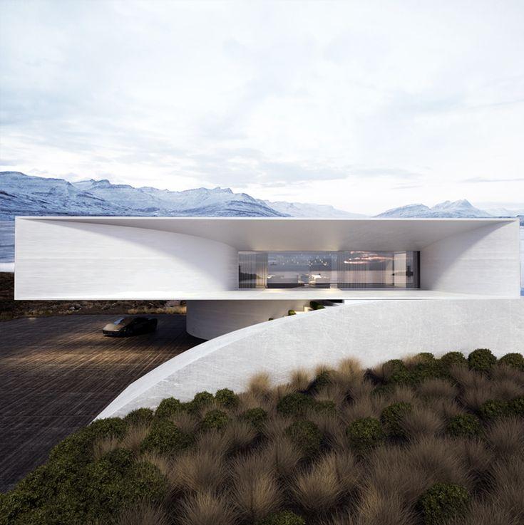 Dit is een foto van een heel modern huis, ik heb de foto erbij gedaan omdat architectuur heel leuk vind en ik er later misschien iets mee wil gaan doen  modern house project