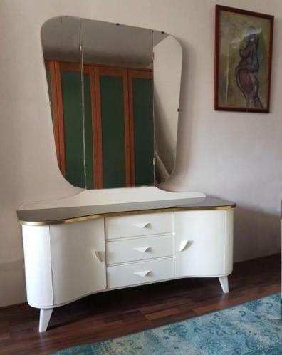vintage kaptafel met spiegel en nachtkastjes slaapkamer nachtkastjes marktplaatsnl