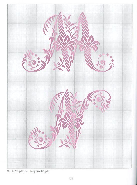 Gallery.ru / Фото #60 - Belles lettres au point de croix - logopedd