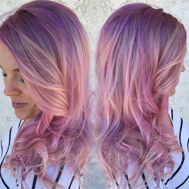 HOW-TO: Ashy Blonde to Multi-Dimensional Pink - Hair Color - Modern Salon