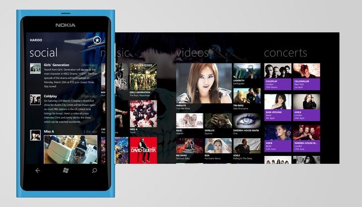 Windows Phone 7 Music Application