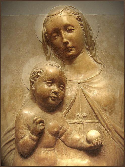 Pagno di Lapo Portigiani (?) - Madonna col bambino - 1451 circa - Museo dell'Opera del Duomo, Firenze