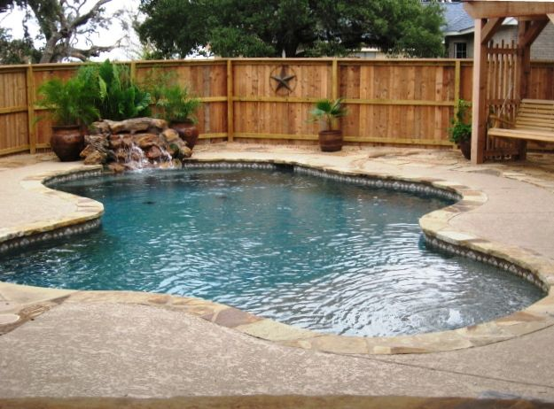 Pool coping oklahoma flagstone google search landscape for Pool redesign