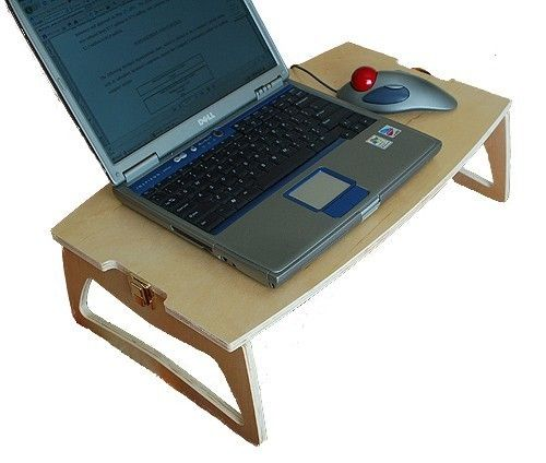 Laptop Bed Desk Bedtime Computer Table Folding by MyBedDesk, $49.95