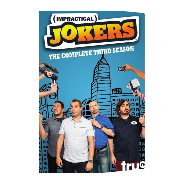 Impractical jokers:Season three (Dvd)