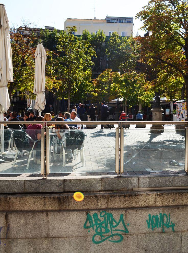 Plaza de Santa Ana. Barrio de Sol. Madrid 2015