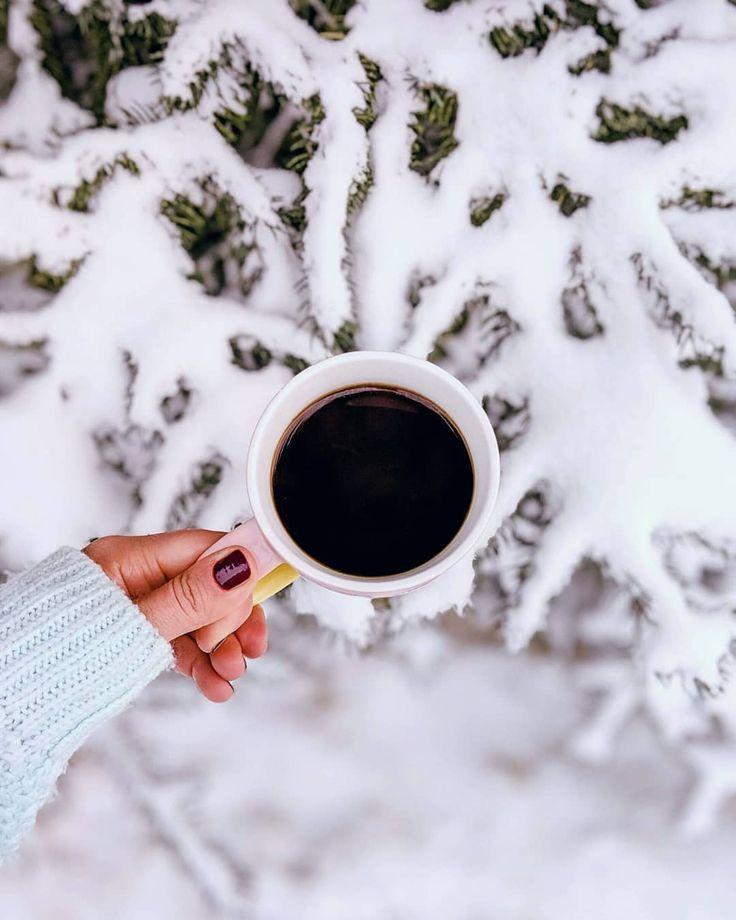 Картинки зима и кофе