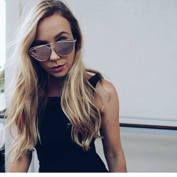 Repost @_millybannister rocking our CONSTANTINA sunglasses in ROSE GOLD  #amazing
