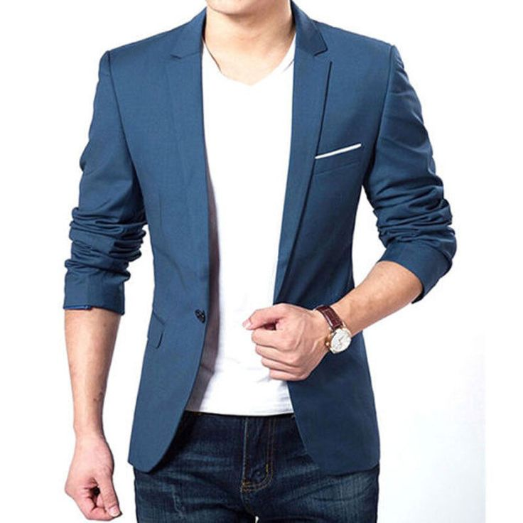 Mens Fashion Brand Blazer British's Style Slim Fit Suit Jacket Male Blazers Men Casual Coat Terno Masculino 22