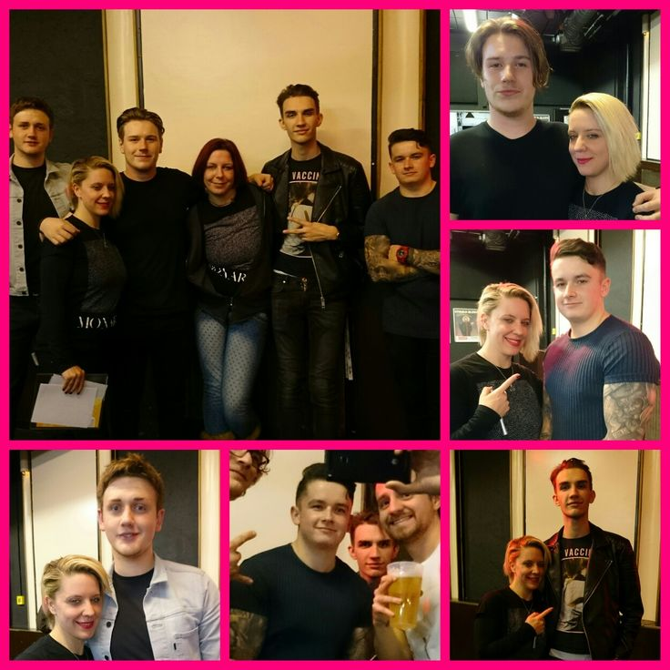 Last night in Munich! 🎉🤘Thx for the great show...(München, 07.11.2016)🇩🇪💖🇬🇧 @monarkstheband  #Monarks #MonarksfriendsGermany #Germany💖Monarks
