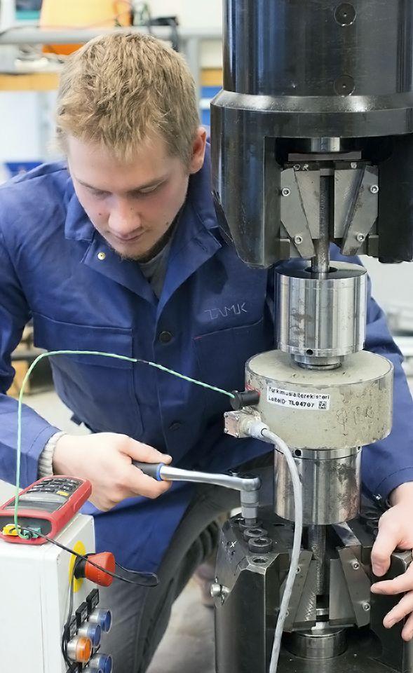 Mechanical Laboratory, Matertest.