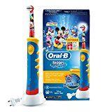 Amazon Angebote elektrische Zahnbürste Oral-B Stages Power Kids Elektrische Kinderzahnbürste, im Disney Micky Maus Design%#Quickberater%