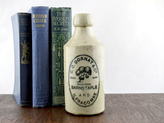 Antique Beer Bottle by C. C. Dornat & Co  by LoAndCoVintage
