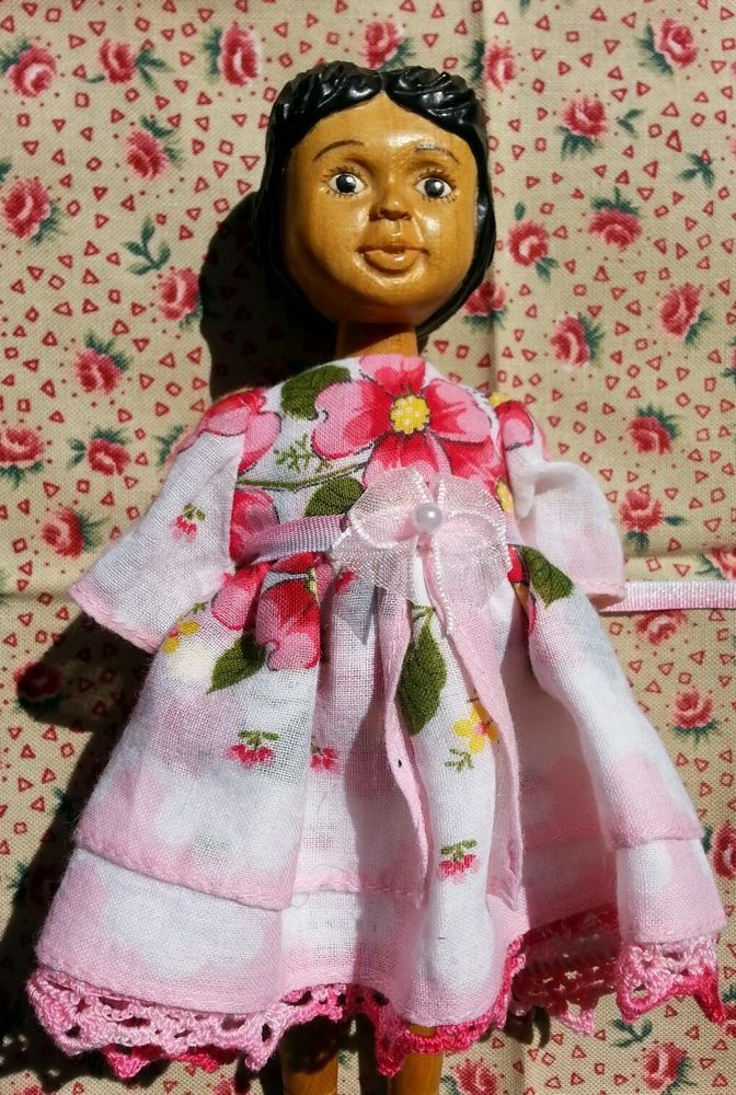 Hitty Dress Made From Pink Vintage Hanky