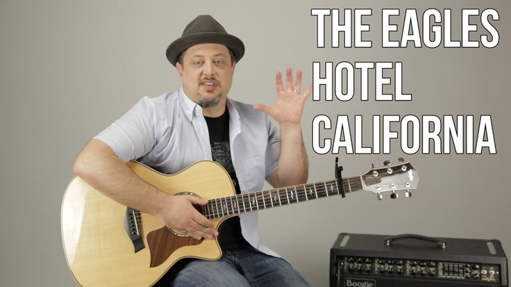 how to play hotel california on guitar for beginners