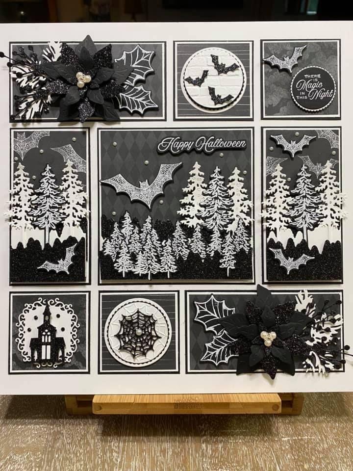 Halloween 2020 Majestic Halloween Magic Sampler in 2020 | Halloween cards handmade