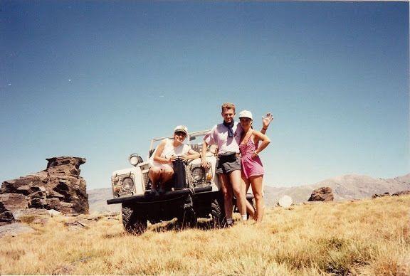 1990 - pico velata (espagne) en Land Rover série 3