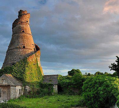 Old tower at Leixlip, County Kildare, Ireland