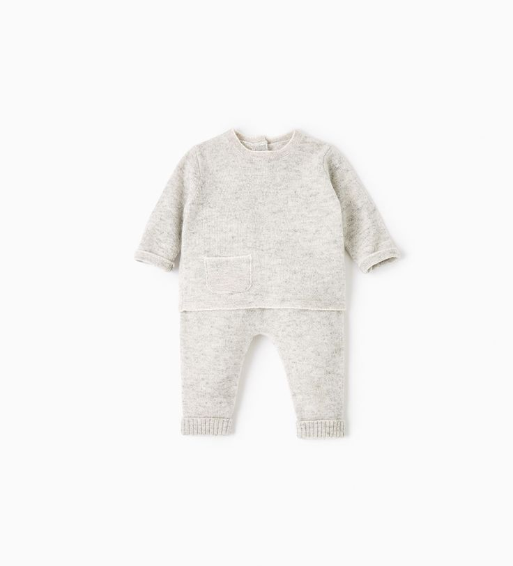 CASHMERE SET-KNITWEAR-MINI | 0-12 months-KIDS | ZARA United Kingdom