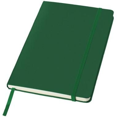 A5 Printed Notebook In Green With Elastic Closure :: Promotional Notebooks :: Promo-Brand Promotional Merchandise :: Promotional Branded Merchandise Promotional Products l Promotional Items l Corporate Branding l Promotional Branded Merchandise Promotional Branded Products London