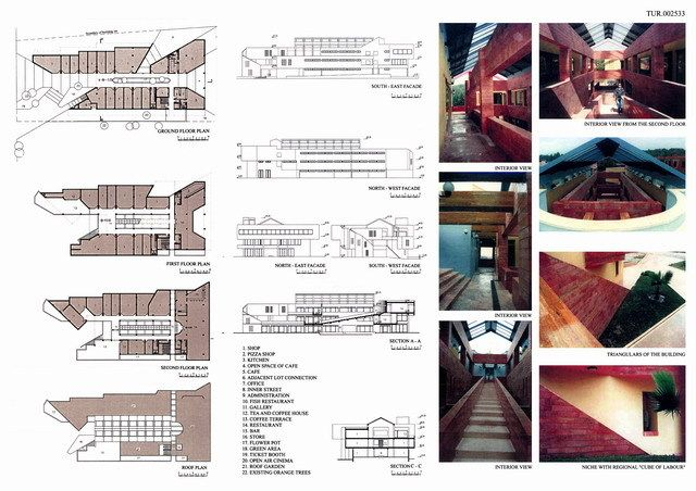 Ping Mall Plan Elevation Section : Best largest shopping mall in india images on pinterest