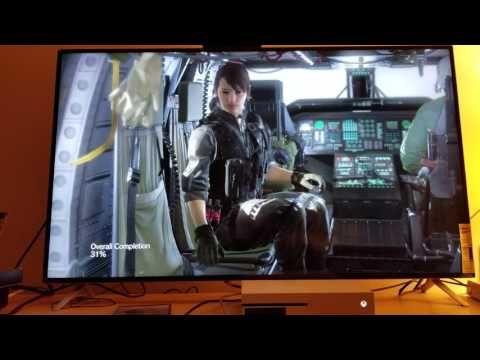 MGS 5 : The Phantom Pain - PS4 Version Upscaled to 4K via Xbox One S