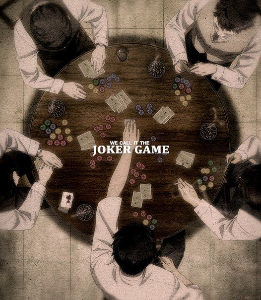 Joker Game: edit, collage & other