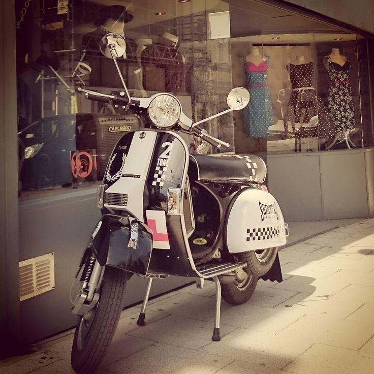 The Vespa Still Making A Firm Statement In The 21st Century  #Ratracemargate #mods #Margate #ThisIsEngland #Ratrace #Vespa #Lambretta #Prettygreen #Brutus #Trojanrecords #Relco #Merc #Hawkinsandjoseph #Dickensandbrowne #Artgallery #Lindybop #Collectif #Freddiesofpinewood #DrMartens #Ikon #Scooter #Ska #2tone