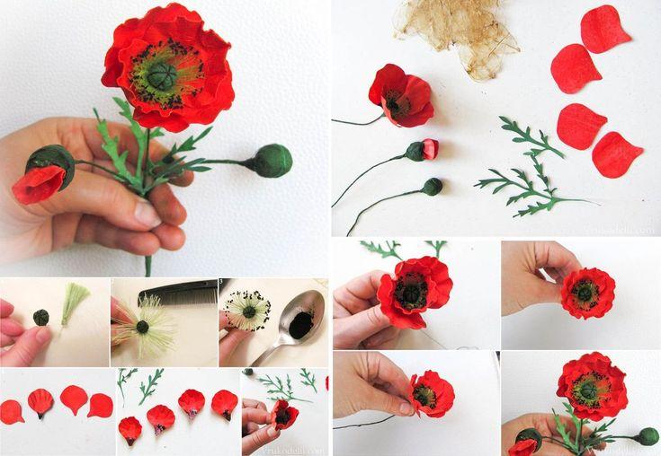 Фоамиран*Цветы*Мастер-классы