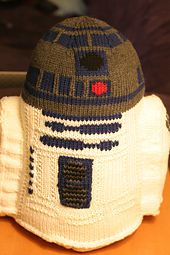 Ravelry: Stuffed R2D2 Toy pattern by Michelle Cooper