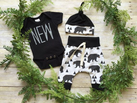 Newborn Boy Take Home Outfit / Newborn Boy Coming by anUPdesign