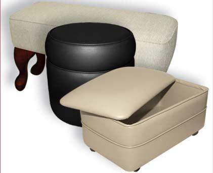 elegant footstools