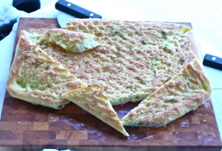 Olive Oil Flatbread by Richard Bertinet
