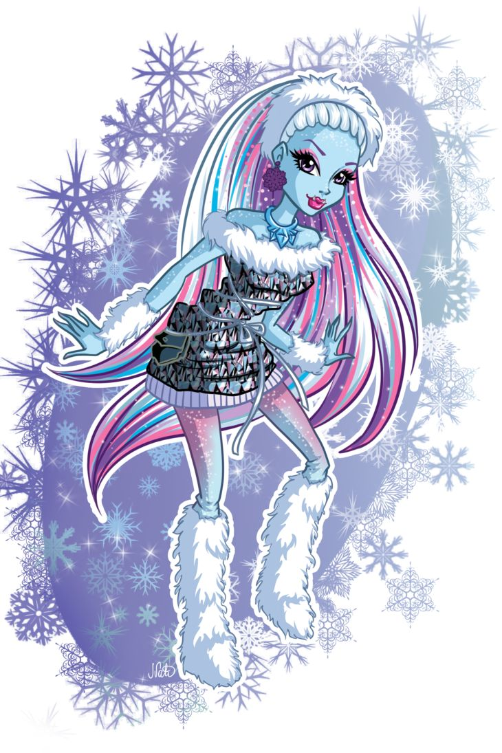 33 Best Monster High Abbey Bominable Images On Pinterest
