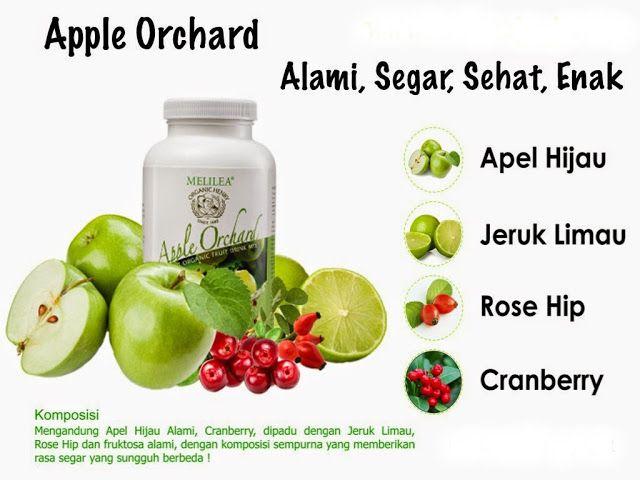 PENYEMBUHAN ALAMI: Apple Orchard Melilea Jaga Daya Tahan Tubuh
