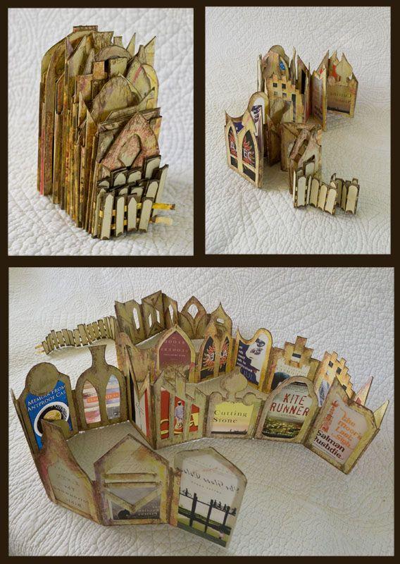 Randy Keenan little art house paper cut