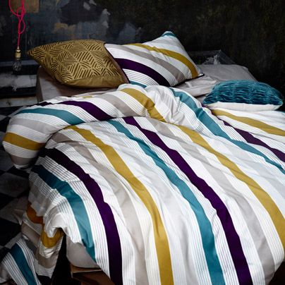 1000 Images About Striped Bed Linen On Pinterest Miami